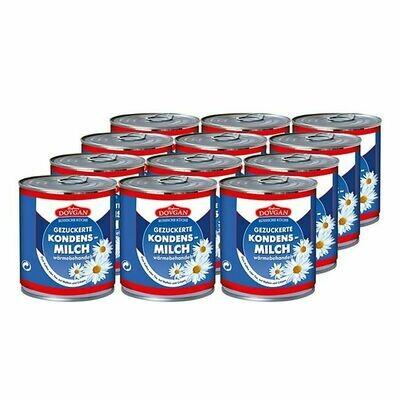 Grosspackung Dovgan gezuckerte Kondensmilch 397 g, 12er Pack = 4,764 kg