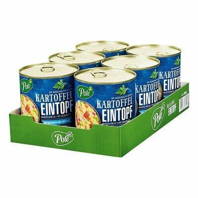 Grosspackung Pote Kartoffeleintopf mit Speck 800 g, 6er Pack = 4,8 kg
