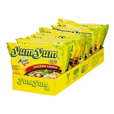 Grosspackung Yum Yum Instantnudeln Huhn 60 g, 10er Pack = 0,6 kg