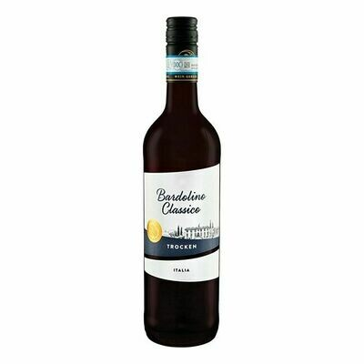 Grosspackung Bardolino Classico DOC rot 12,0 % vol. 6 x 0,75 Liter = 4,5 Liter