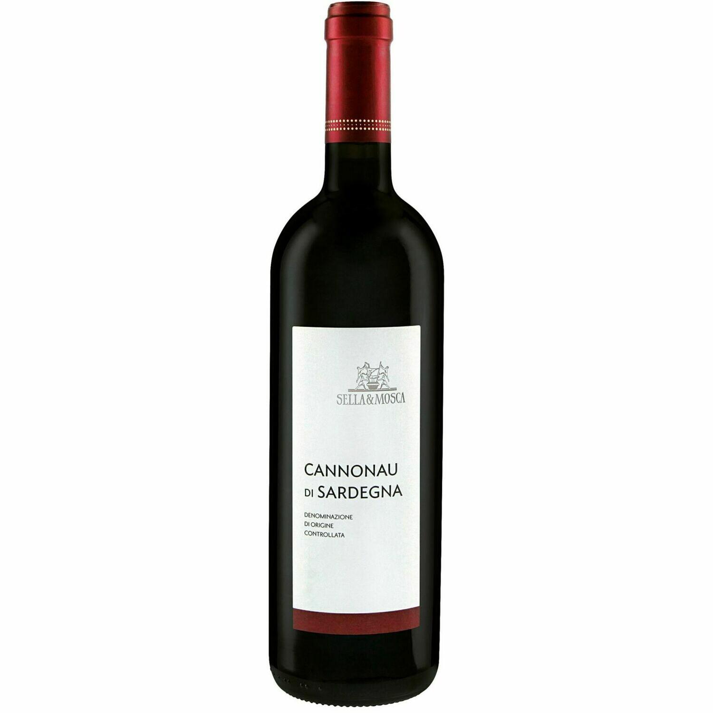 Grosspackung Sella & Mosca Cannonau di Sardegna DOC 13,0 % vol. 6 x 0,75 Liter = 4,5 Liter