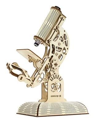 Mr. PlayWood Modellbaukasten Mikroskop 43 x 34 cm Holz 104-teilig