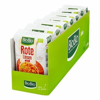 Grosspackung BioBio Rote Linsen 500 g, 7er Pack = 3,5 kg