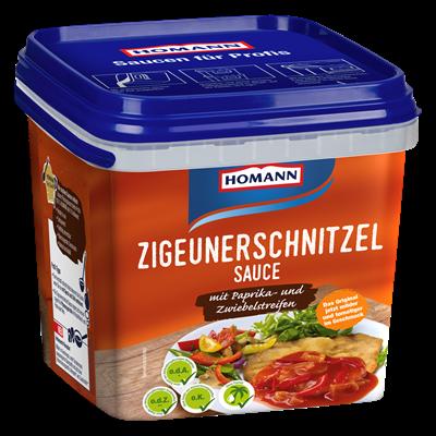 Grosspackung Homann Zigeunerschnitzelsauce - 4 kg