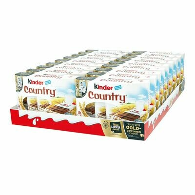 Grosspackung Ferrero Kinder Country 211,5 g, 18er Pack = 3,807 kg