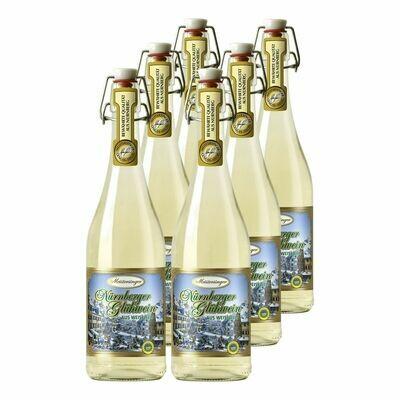 Grosspackung Meistersinger Nürnberger Glühwein aus Weißwein g.g.A. 9,0 % vol 6 x 0,75 Liter