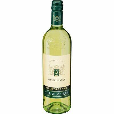 Grosspackung Serge Morin Vin de France Blanc 11,5 % vol 6 x 1 Liter = 6 Liter