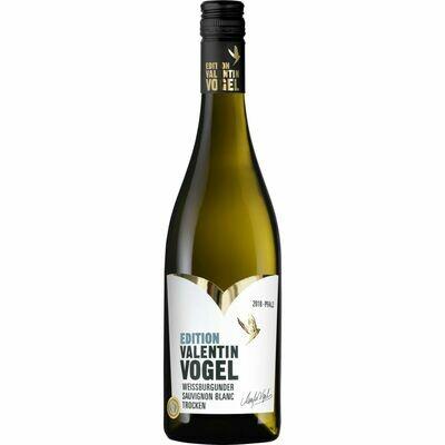 Grosspackung Valentin Vogel Weissburgunder Sauvignon Blanc Qualitätswein 12,4 % vol 6 x 0,75 Liter = 4,5 Liter