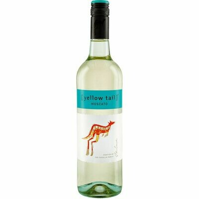 Grosspackung Yellow Tail Moscato South Eastern Australia 7,5 % vol. 6 x 0,75 Liter = 4,5 Liter