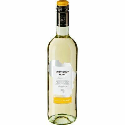Grosspackung Sauvignon Blanc Western Cape Südafrika 13,0 % vol 6 x 0,75 Liter = 4,5 Liter