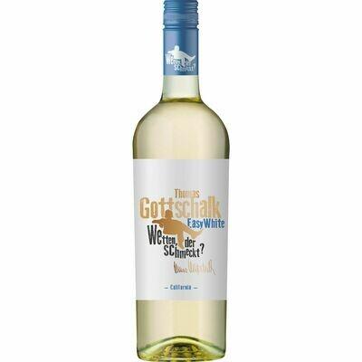 Grosspackung Thomas Gottschalk Weißwein Easy White Chardonnay 12,5 % vol 6 x 0,75 Liter = 4,5 Liter