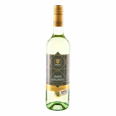 Grosspackung Weingold Rivaner Grauburgunder Qualitätswein Rheinhessen DLG-prämiert 11,5 % vol 6 x 0,75 Liter = 4,5 Liter