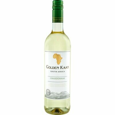 Grosspackung Golden Kaan Chardonnay Western Cape 13,5 % vol. 6 x 0,75 Liter = 4,5 Liter