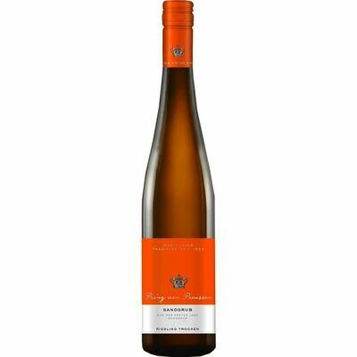 Grosspackung Prinz von Preussen Kiedricher Sandgrub Riesling Erste Lage Qualitätswein Rheingau feinherb 11,5 % vol 6 x 0,75 Liter = 4,5 Liter