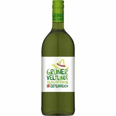 Grosspackung Heuriger Grüner Veltliner Qualitätswein Niederösterreich 11,0 % vol 6 x 1 Liter = 6 Liter