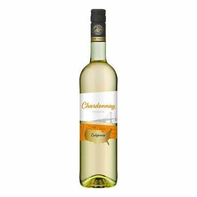 Grosspackung OverSeas Chardonnay weiß 13,0 % 6 x 0,75 Liter = 4,5 Liter