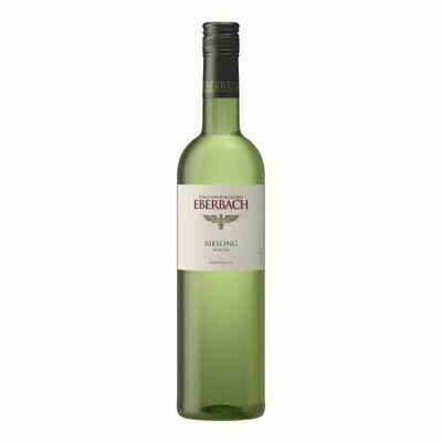 Grosspackung Eberbach Riesling Rheingau Qualitätswein weiß 11,5 % vol 6 x 0,75 Liter = 4,5 Liter