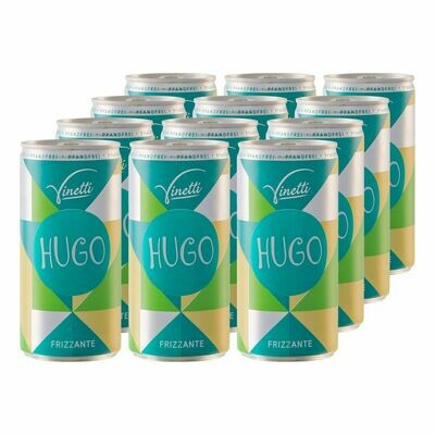 Grosspackung Vinetti Hugo 6,9 % vol. 200 ml, 12er Pack = 2,4 Liter