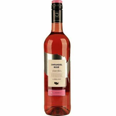 Grosspackung Zinfandel Rosé Kalifornien 10,5 % vol 6 x 0,75 Liter = 4,5 Liter