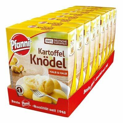 Grosspackung Pfanni Kartoffelknödel halb & halb 200 g, 9er Pack = 1,8 kg