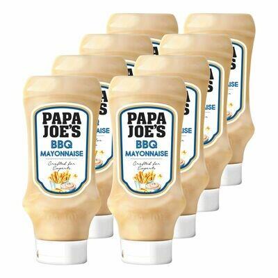 Grosspackung Papa Joes BBQ Mayonnaise 500 ml, 8er Pack = 2,4 Liter
