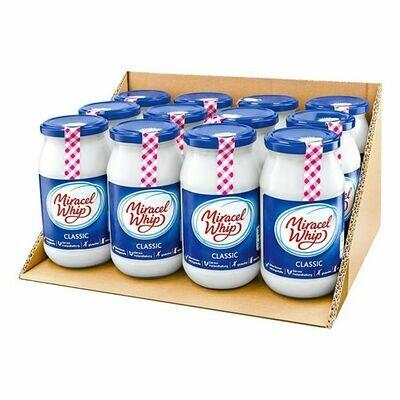 Grosspackung Miracel Whip Classic 500 ml, 12er Pack = 6 Liter