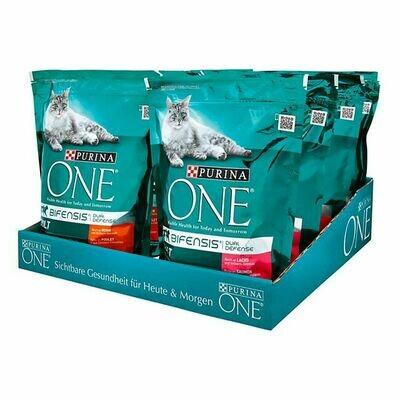 Grosspackung PURINA ONE Katzenfutter Bifensis 800 g, verschiedene Sorten, 8er Pack = 6,4 kg