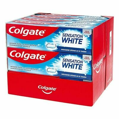 Grosspackung Colgate Sensation White Zahncreme 75 ml, 12er Pack = 900 ml