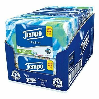 Grosspackung Tempo Duo-Box Original 160 Blatt, 6er Pack