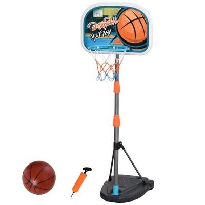 HOMCOM® Kinder Basketballständer Basketballkorb 126-158 cm Einstellbar mit Ständer