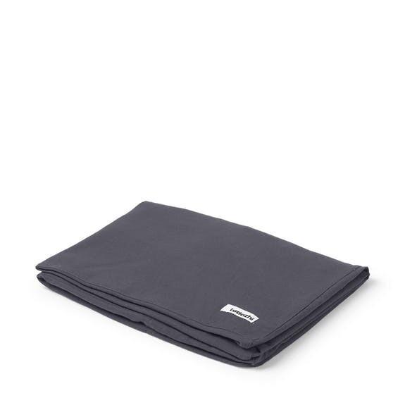 TADAZHI HUNDEBETT / KATZENBETT BETTLAKEN TOBINE BED SHEET WARM GREY - 80X56X14 CM