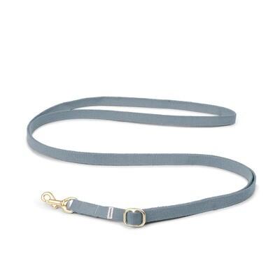 TADAZHI HUNDELEINE MY FADED BLUE LEAD Breite 1,5 cm, Länge einstellbar von 94 - 180 cm