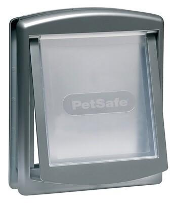 PetSafe Hundeklappe Katzenklappe Staywell 29,4 x 35,2 cm grau