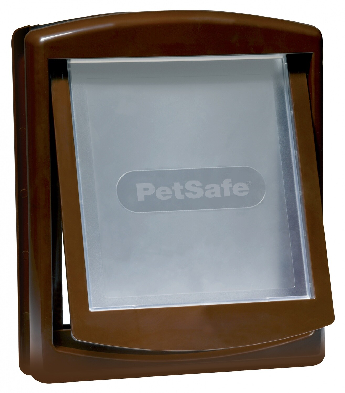 PetSafe Hundeklappe Katzenklappe Staywell 29,4 x 35,2 cm braun