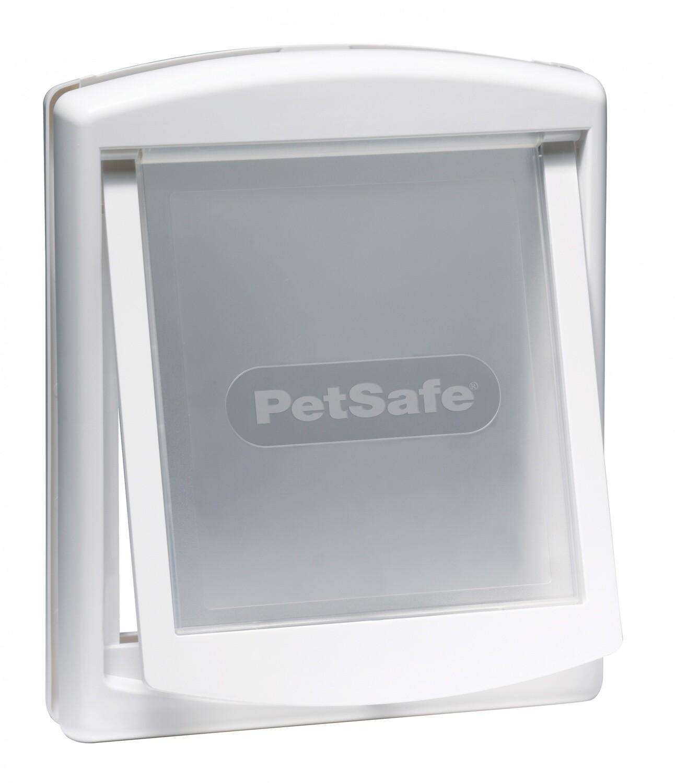PetSafe Hundeklappe Katzenklappe Staywell 29,4 x 35,2 cm weiss