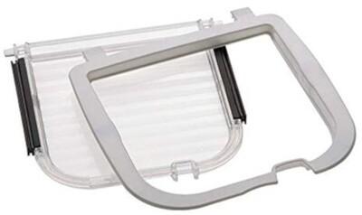 Ferplast Ersatzklappe 17,2 cm transparent für Hundeklappe Katzenklappe