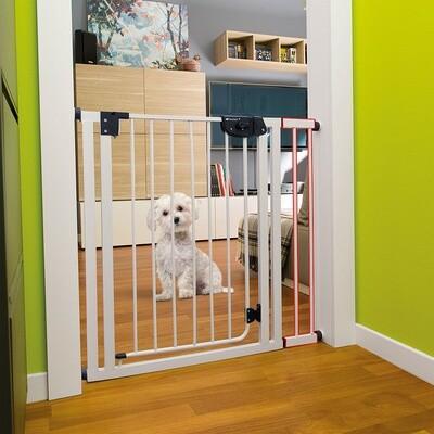Ferplast Verlängerung Hunde- und Katzenzaun / Hundegitter 13 x 79 cm Stahl weiss