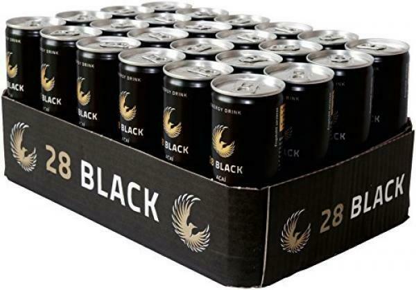 28 Black Açaí Energy Drink (24 x 0,25 Liter Dosen DE) = 6 Liter