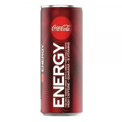 Grosspackung Coca Cola Energy Drink (12 x 0,25 Liter Dosen BE)