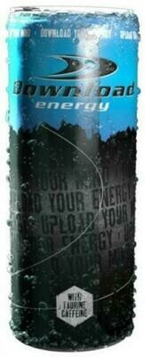 Grosspackung Download Energy Drink (24 x 0,25 Liter Dosen NL) = 6 Liter
