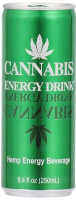 Grosspackung Cannabis Energy Drink (24 x 0,25 Liter Dosen NL) = 6 Liter