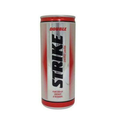 Grosspackung Double Strike Energy Drink (24 x 0,25 Liter Dosen NL) = 6 Liter