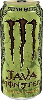 Grosspackung Java Monster Irish Blend Coffee + Energy (12 x 0,443 Liter Dosen) = 5.31 Liter USA Import