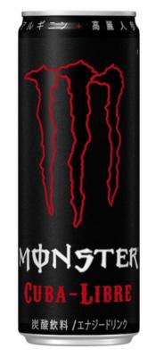 Japan Import Grosspackung Monster Energy Cuba Libre (24 x 0,355 Liter Dosen JP) = 8,4 Liter