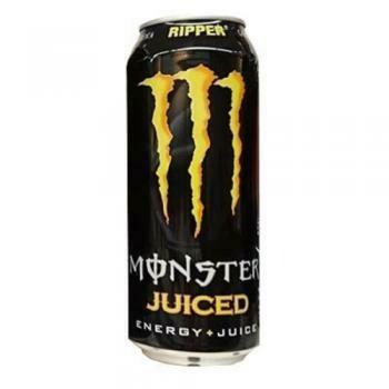 Grosspackung Monster Energy Ripper Juiced (12 x 0,5 Liter Dosen) = 6 Liter
