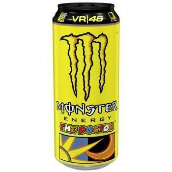 Grosspackung  Monster Energy Rossi The Doctor (12 x 0,5 Liter Dosen) = 6 Liter