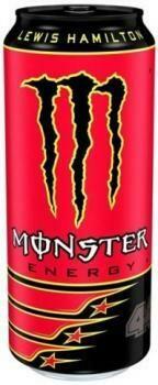 Grosspackung Monster Energy LH44 Lewis Hamilton (12 x 0,5 Liter Dosen) = 6 Liter