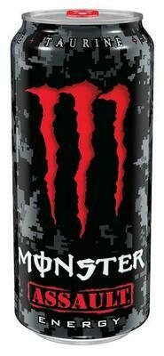 Grosspackung Monster Energy Assault (12 x 0,5 Liter Dosen) = 6 Liter