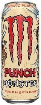 Grosspackung Monster Energy Pacific Punch (24 x 0,5 Liter Dosen ES) = 12 Liter