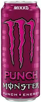 Grosspackung Monster Energy Punch Mixxd (12 x 0,5 Liter Dosen PL) = 6 Liter